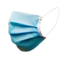 Защитная маска для лица (голубая) набор 100шт
