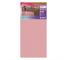 Подложка гармошка для теплого пола Solid Розовая (1050x8000) мм
