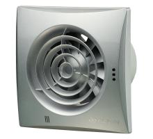 Осевой вытяжной вентилятор Вентс Квайт 100 Алюминий лак