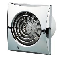 Осевой вытяжной вентилятор Вентс Квайт 125 Хром