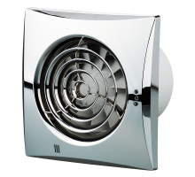 Осевой вытяжной вентилятор Вентс Квайт 100 Хром