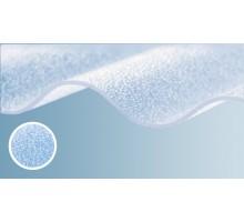Полікарбонатний шифер Rober прозорий текстурований 2000*1045*0,8мм хвиля