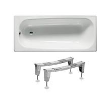 ROCA Комплект: CONTESA ванна 160*70см прямоугольная + ножки